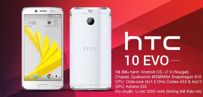 HTC One M10 Evo