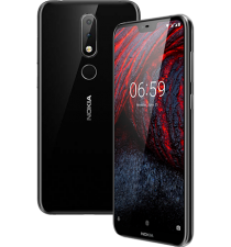 Nokia 6.1 Plus 2 Sim(RAM 4GB, ROM 32GB) Brandnew Fullbox